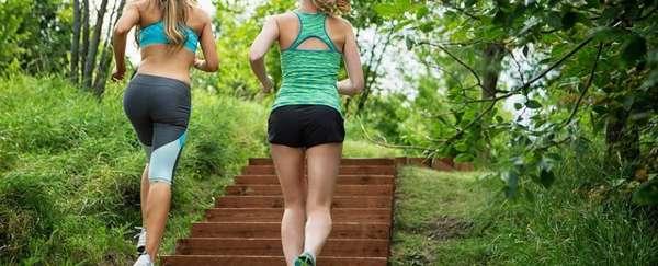 Бег поступенькам для похудения