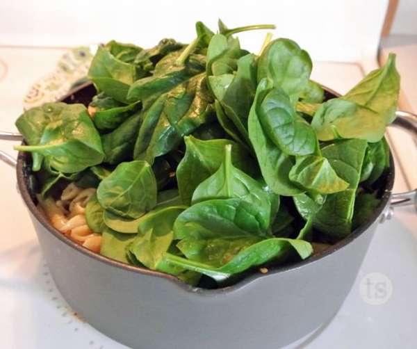 Блюда для похудения со шпинатом: плюсы и минусы