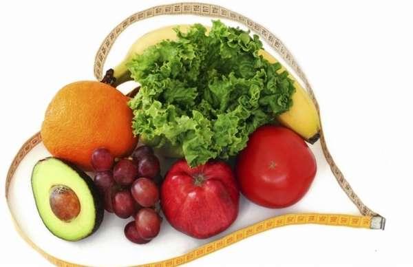 Коррекция обмена веществ правильным питанием