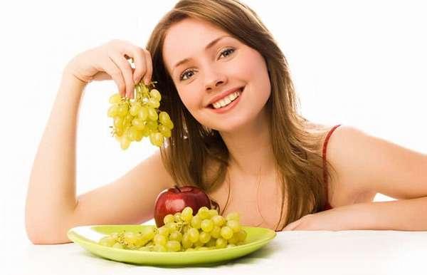 Виноградное меню на три дня Фото