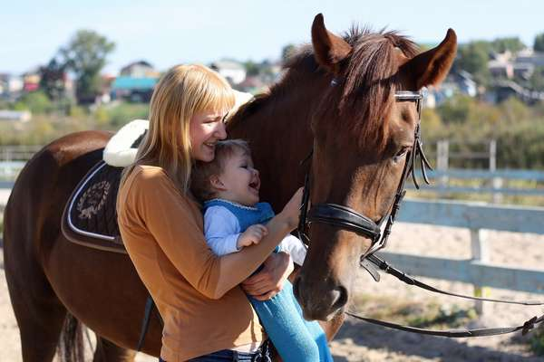 Иппотерапия: доктор Лошадь