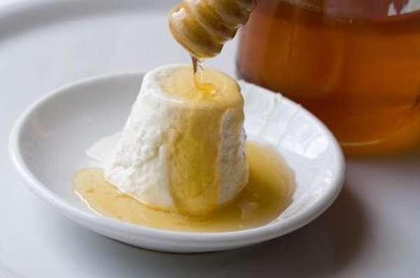 Творог с медом на ночь