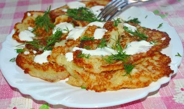 Картофельные оладьи – дранники