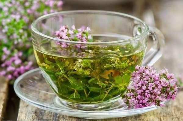 Чай с майораном Фото