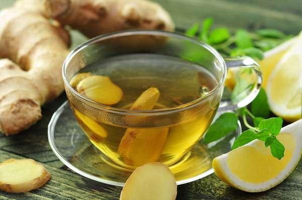 Рецепт зеленого чая с лимоном для похудения