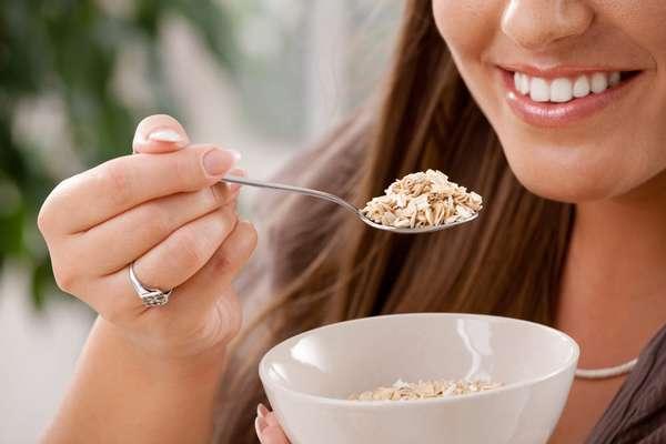Основные правила диеты на овсянке Фото девушки