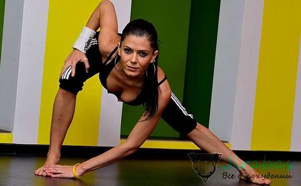 Разминка перед началом гимнастики