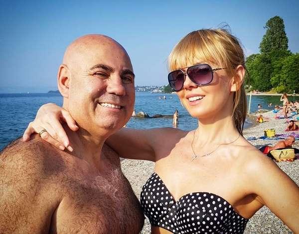 Валерия с мужем Фото
