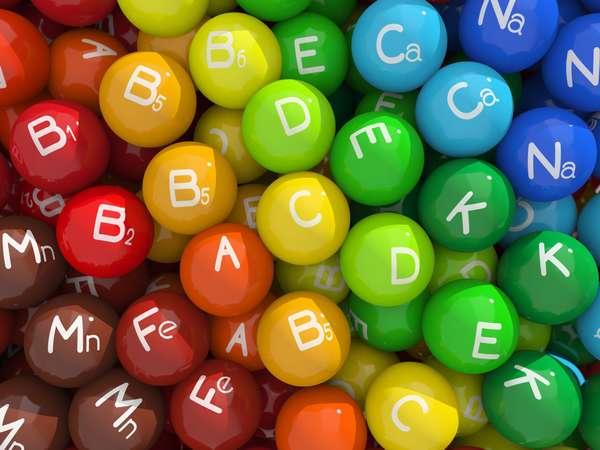 Витамины и минералы: что для чего