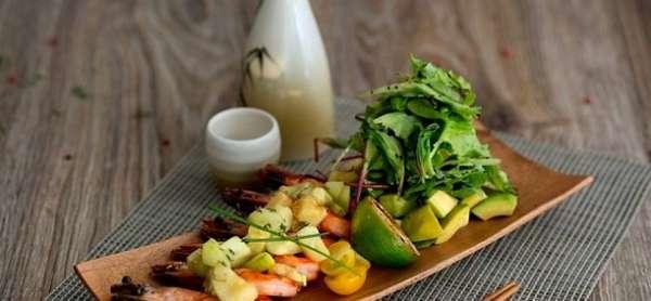 Теплый салат в мультиварке