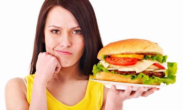 Как утолить голод во время диеты