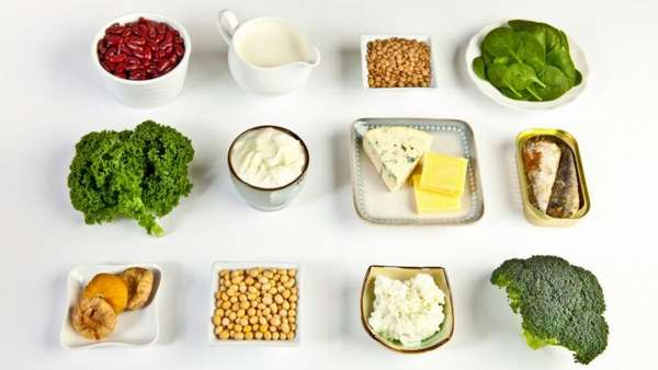 Топ-10 «зимних» витаминов красоты. Кальций