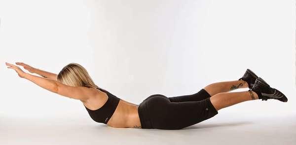 Упражнения для спины: избавляемся от жировых складок