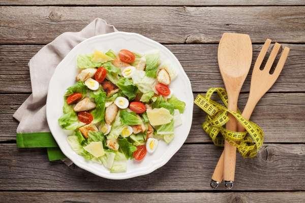 Фото салата кетогенной диеты