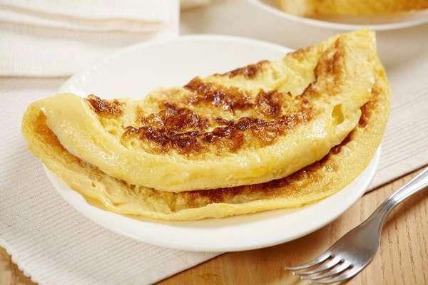 Омлет на завтрак Фото