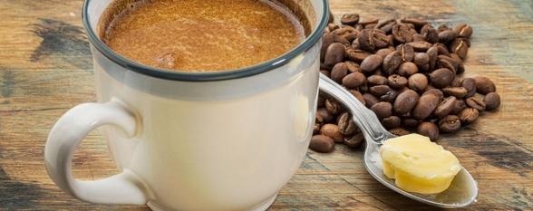 Черный кофе со сливочным маслом
