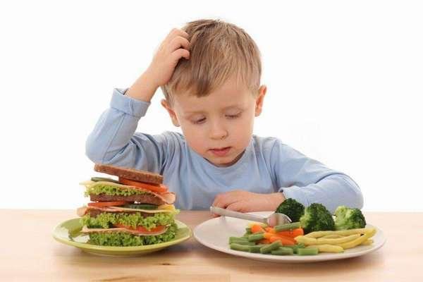Доступный рацион для питания детей Фото