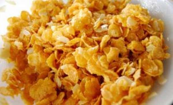Состав и калорийность кукурузных хлопьев