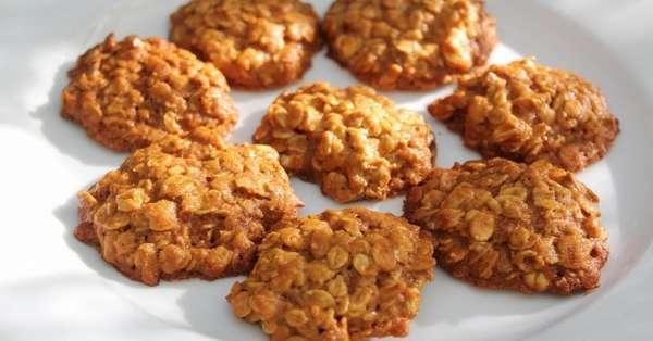 Овсяное печенье без сахара Фото