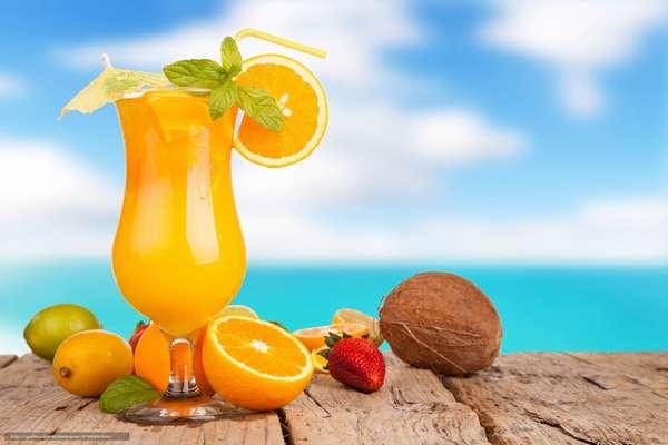 Апельсиновый сок в диете Софи Лорен Фото