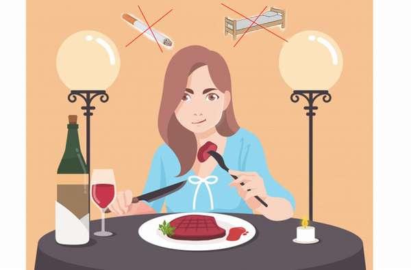 7 запретных привычек после приема пищи
