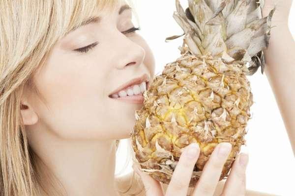 Примерное меню ананасового рациона