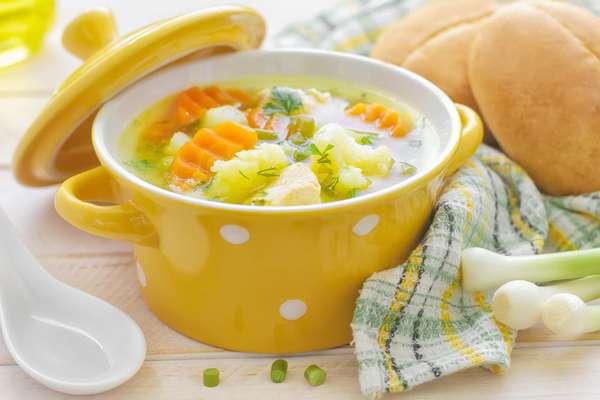 Суп из цветной капусты Фото