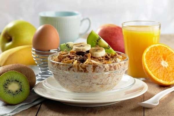 Пример правильного питания на день - завтрак