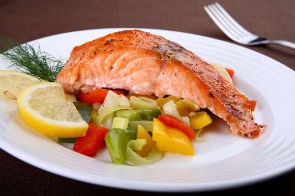Рецепты вторых блюд Рыба с овощами Фото