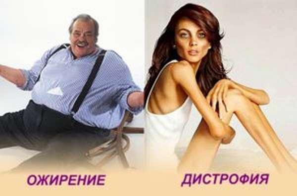 Дистрофия и ожирение