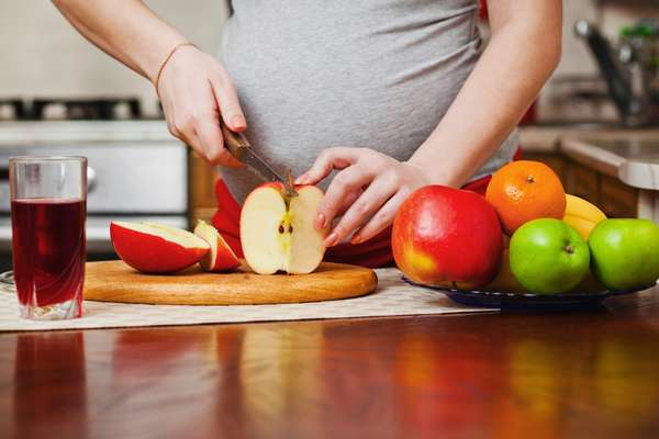 Питание при беременности по неделям второй триместр