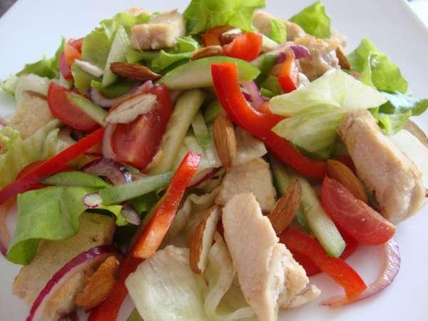 Рецепт из овощей с курицей фото