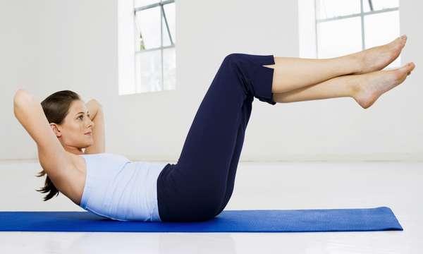 Йога для развития и укрепления мышц брюшного пресса