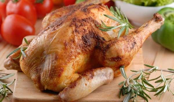 Питание для спортсменов мужчин Фото запеченной курицы