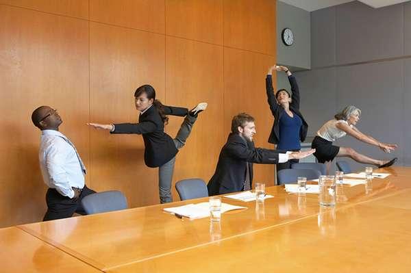 5 упражнений для офиса
