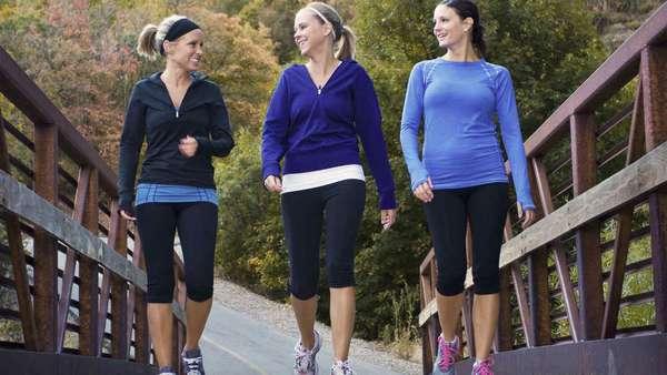 Ходьба: много способов быть здоровым