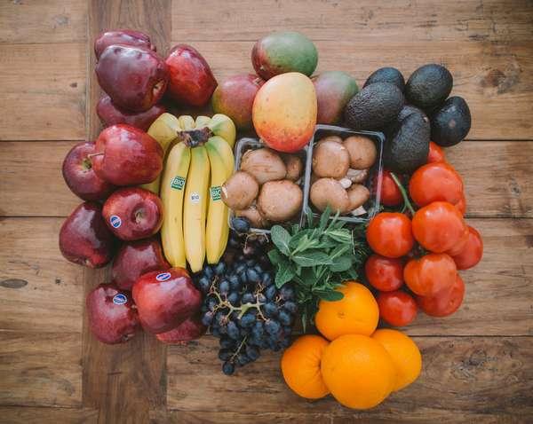 Спасительные порции овощей и фруктов