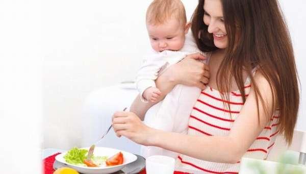 Диета для кормящих мам для похудения отзывы