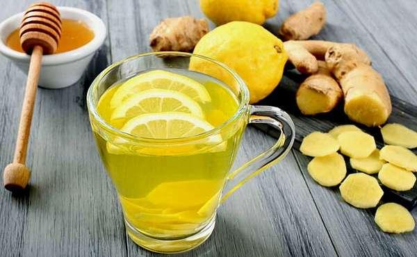 Имбирь с мёдом и лимоном