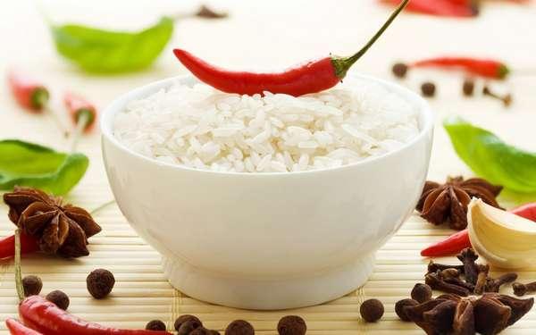 Рисовое меню на неделю Фото