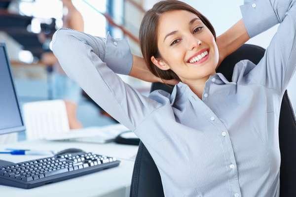 Как похудеть в офисе - гимнастика