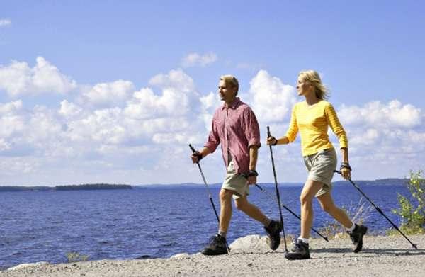 Скандинавская ходьба с палками видео уроки: как правильно ходить