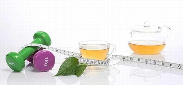 В чем преимущества похудения на чае