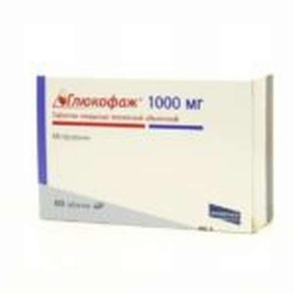 Глюкофаж 1000