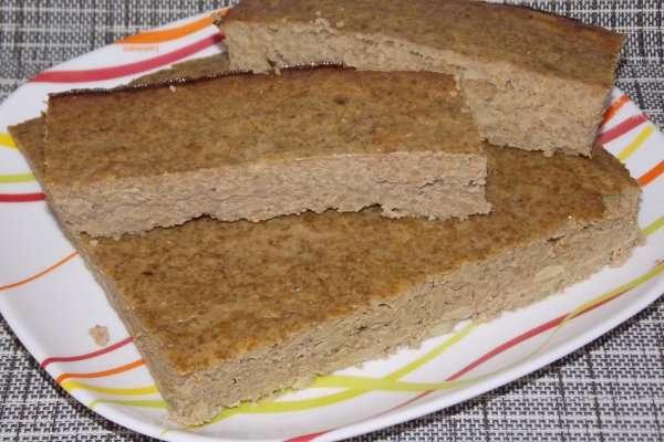 Запеканка из риса и печени