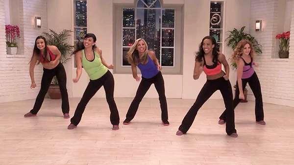 Дениз Остин: Танцевальная аэробика (танцевальный микс)