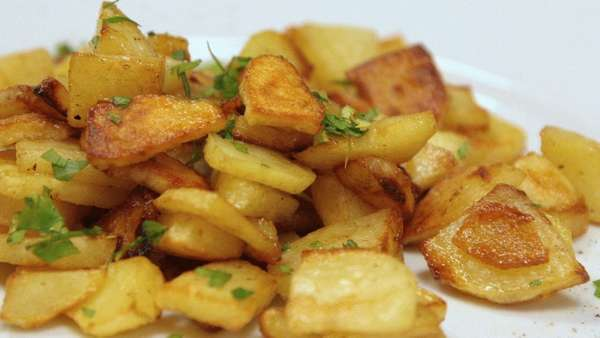 Жареная картошка Фото