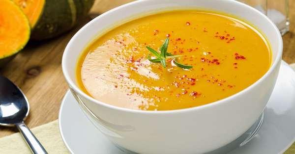 Суп пюре из тыквы Фото