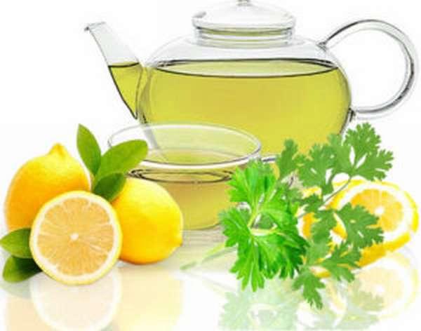 петрушка и лимон для похудения