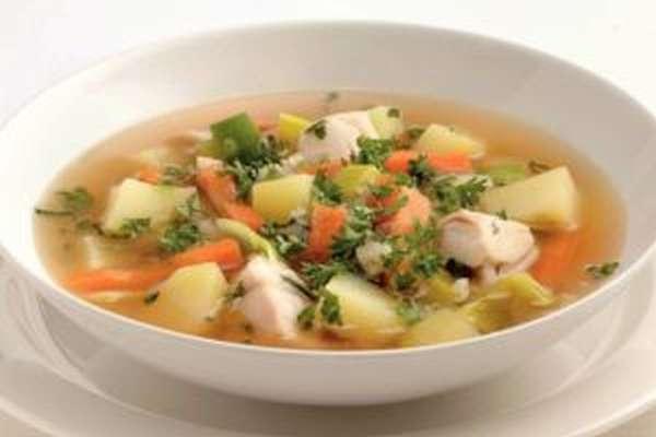 Суп с рыбой